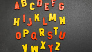 アルファベットの不思議