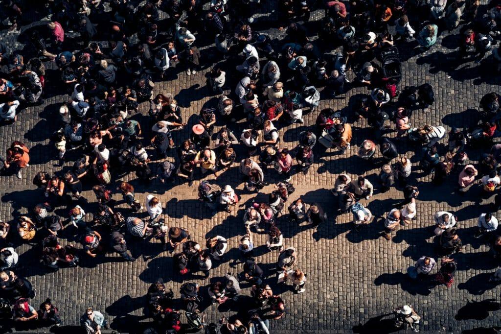 現在世界の人口は70億人。しかし、1000年前はたったの3億人だった