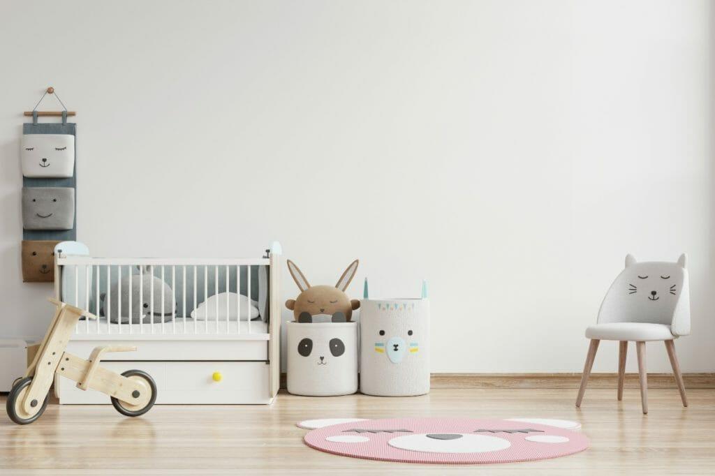 散らかることは覚悟。赤ちゃんの部屋を作る