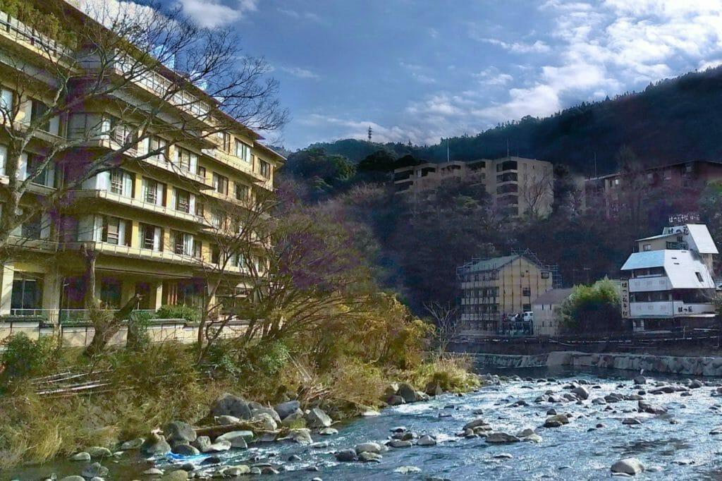 箱根で温泉を満喫