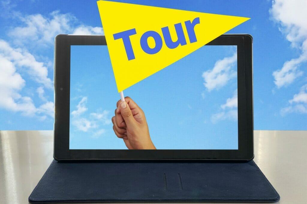 自宅にいる隙間時間を利用してオンラインツアーに参加しよう!