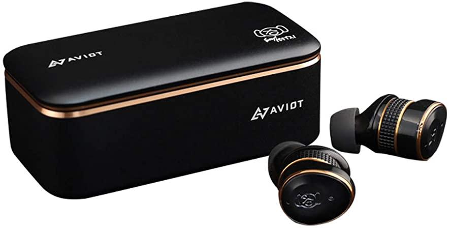 高価な日用品もamzonで。ワイヤレスイヤホンなら「AVIOT TE-BD21j-pnk」